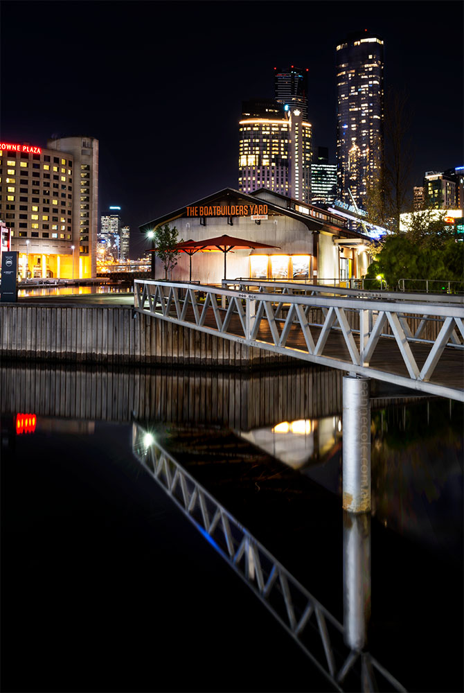 south-wharf-docklands-night-melbourne