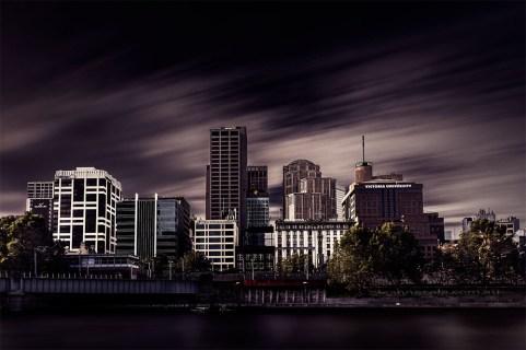 melbourne-cityscape-yarrariver-long-exposure