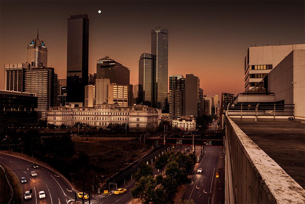 cityscape-melbourne-flinders-street-twilight