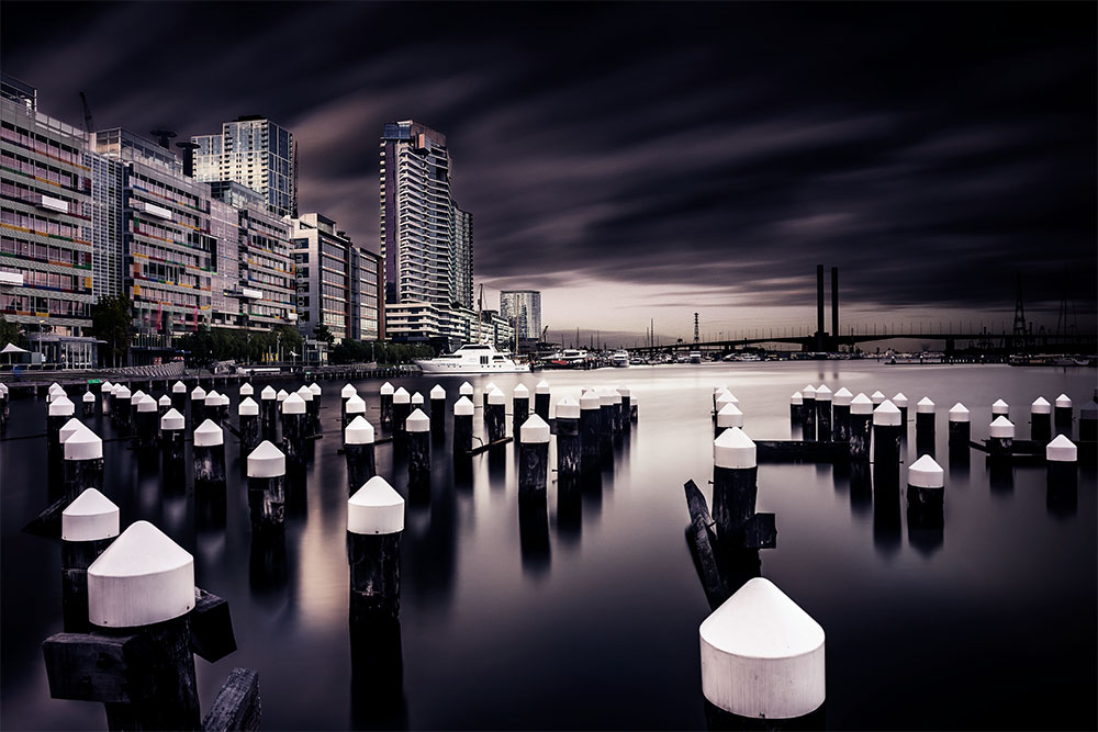 Long Exposure at Docklands