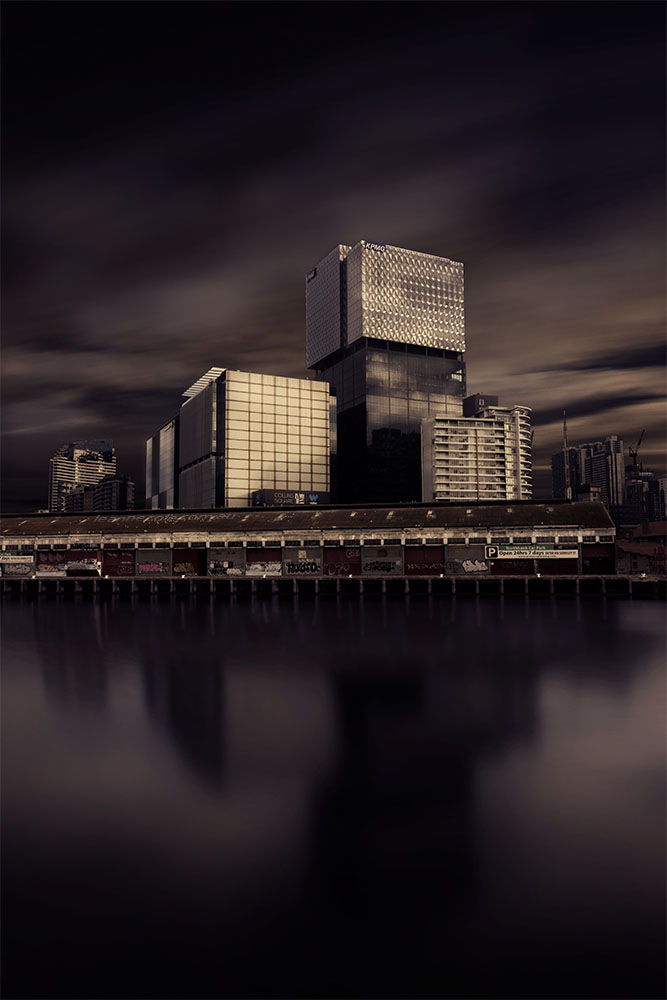 long-exposure-southwharf-melbourne-morning