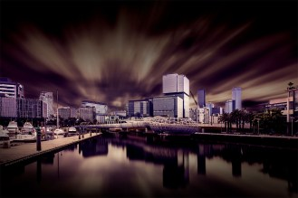 docklands-wide-morning-longexposure-melbourne