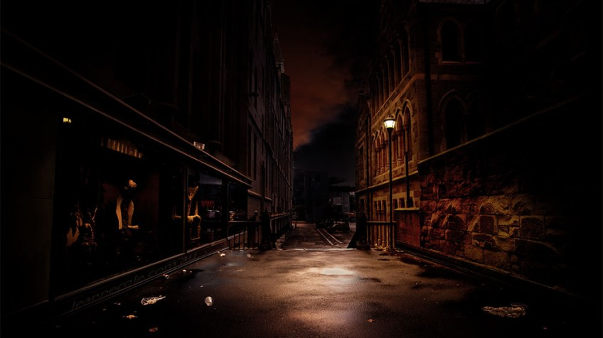 stpauls-arcade-evening-sunset-rain-melbourne