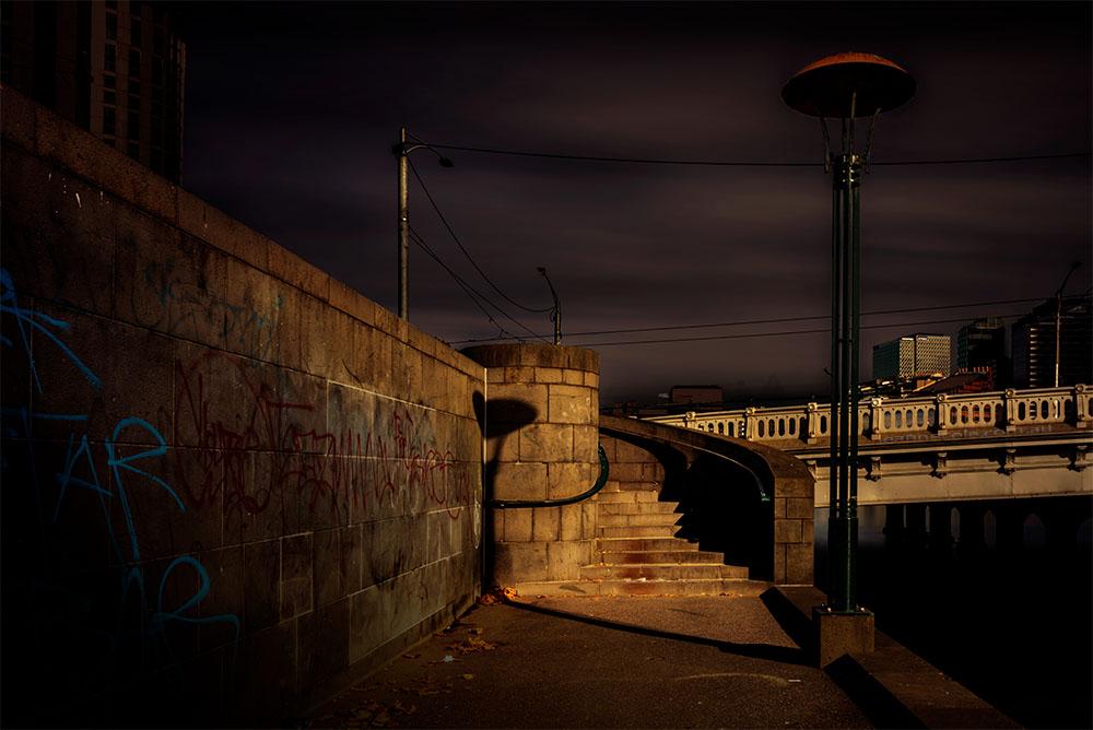 stairs-longexposure-melbourne-river-bridge