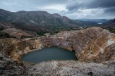 The Iron Pit from mining at Queenstown.