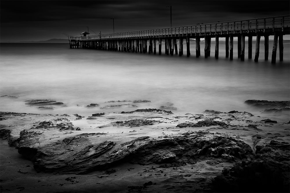 point-lonsdale-pier-longexposure-monochrome