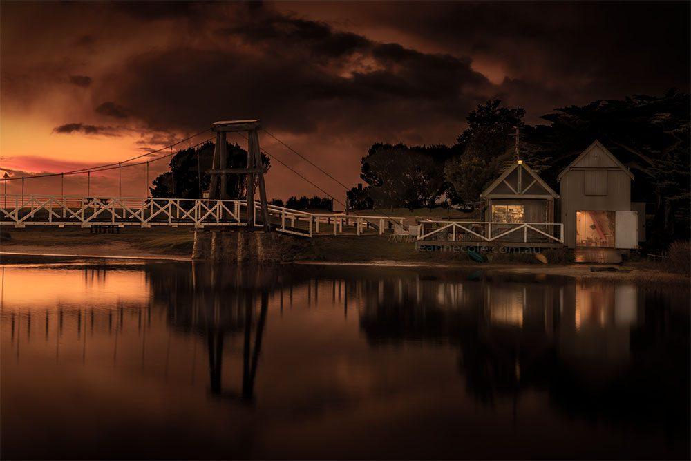 lorne-swing-bridge-sunrise-long-exposure