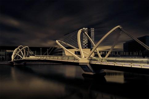 seafarers-bridge-longexposure-melbourne-docklands
