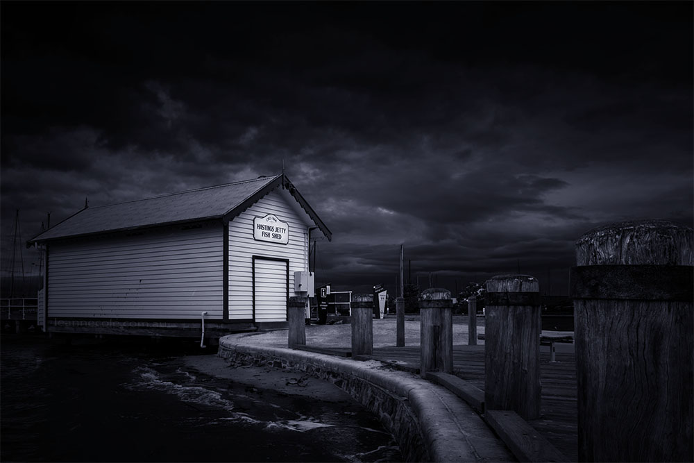 Monochrome Wednesday - Shed