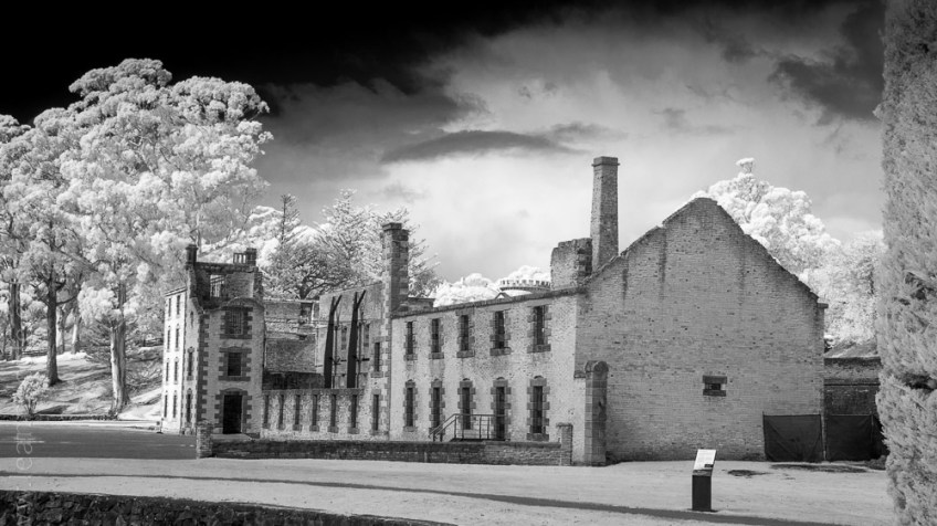 Silent Sunday - Port Arthur in Infrared
