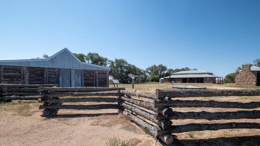 Kow Plains Homestead in the Mallee