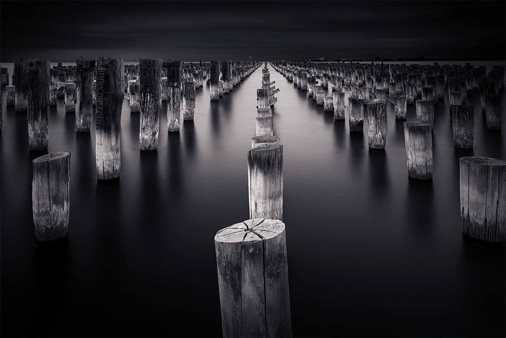 Monochrome Wednesday - Princes Pier