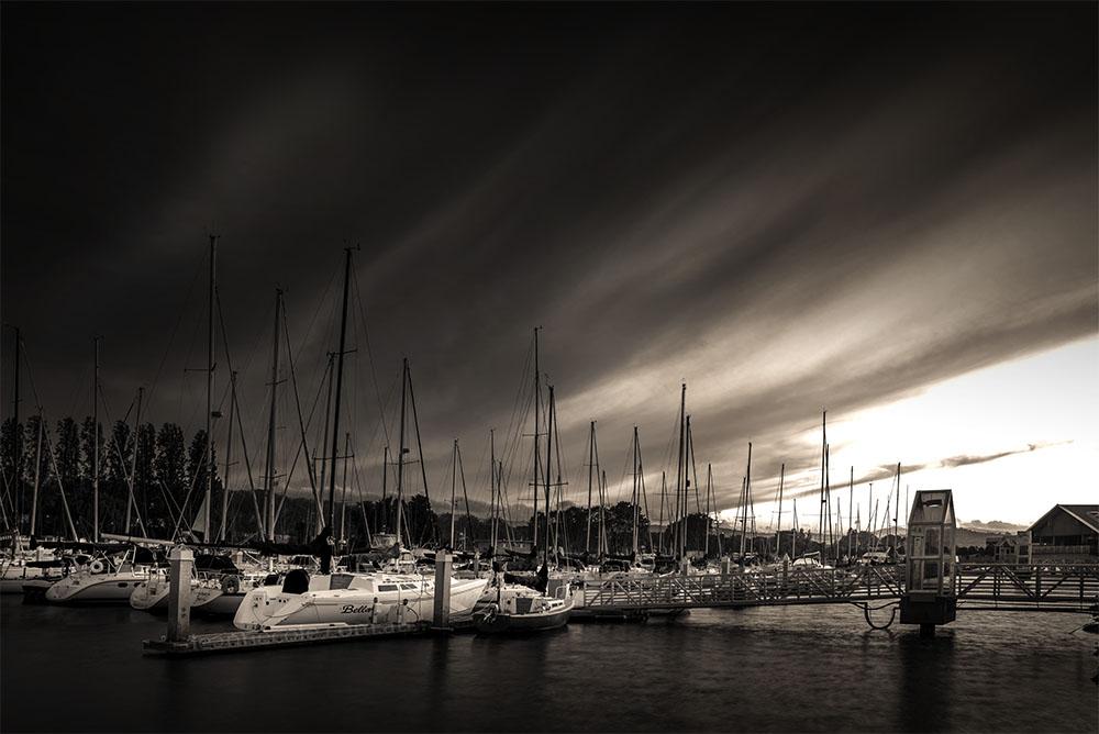 Monochrome Madness - San Francisco Marina