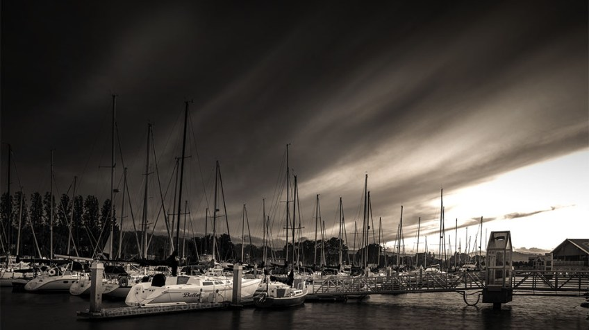 Monochrome Madness - San Francisco Marina