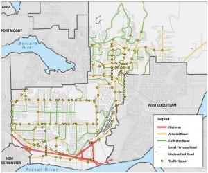 city of coquitlam road classification