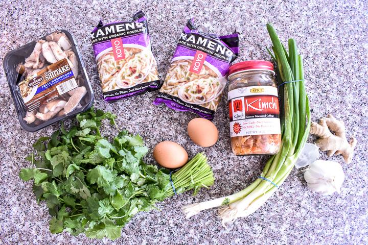 ramen ingredients