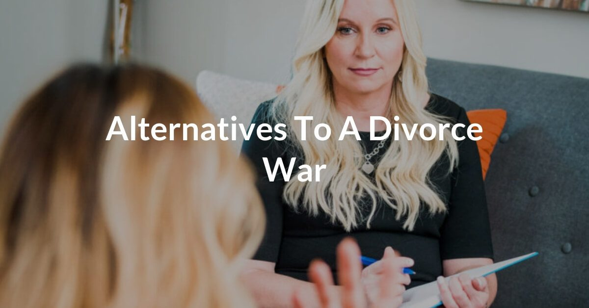 Divorce rates are high, but divorce should always be the last option. There are a number of options available other than full on divorce warfare which often benefits no one.