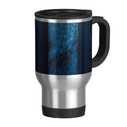 Teal travel mug