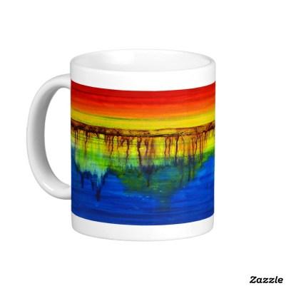 """Spectral Depths"" on a Healing Colors Mug"