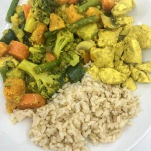 Nourishing Chicken Turmeric Curry