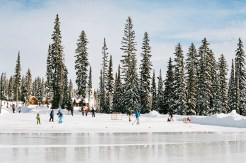 big white resort skating rink