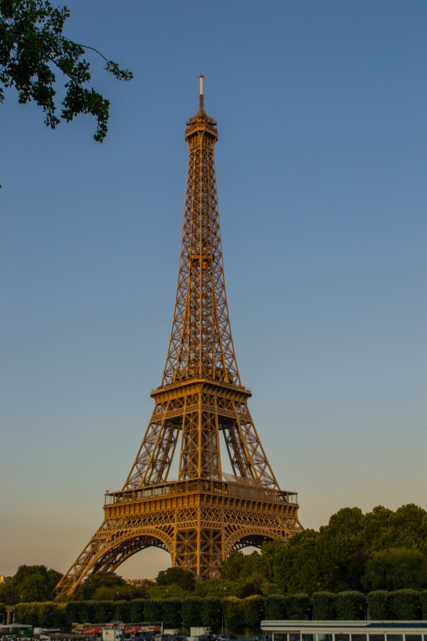 Eiffel Tower Side View