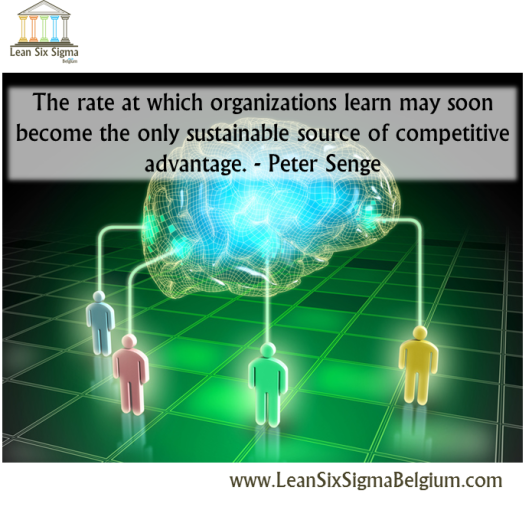 Quote - The rate at which organizations learn may soon become the only sustainable source of competitive advantage. - Peter Senge