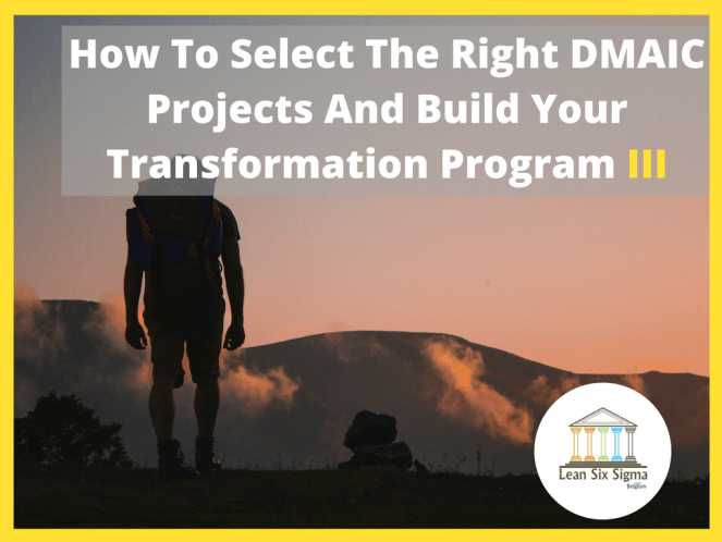 dmaic project