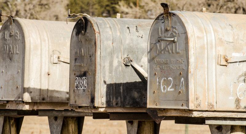 contact us mailbox