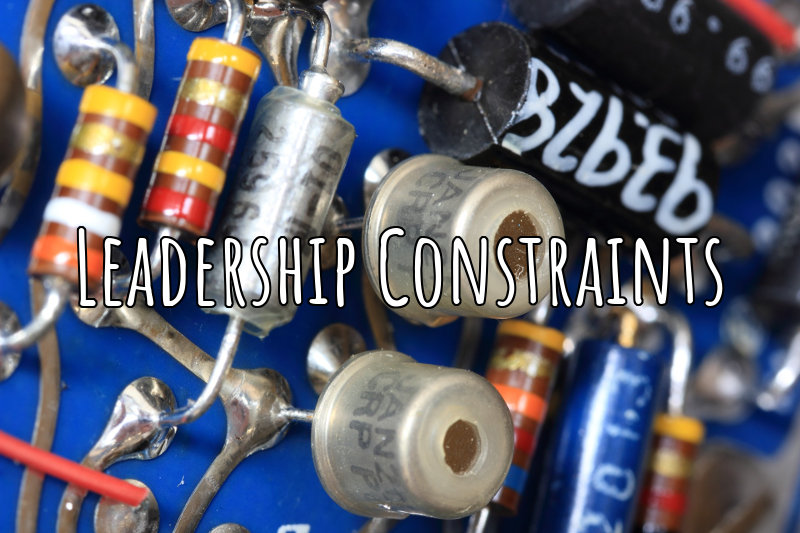 the greatest leadership constraint