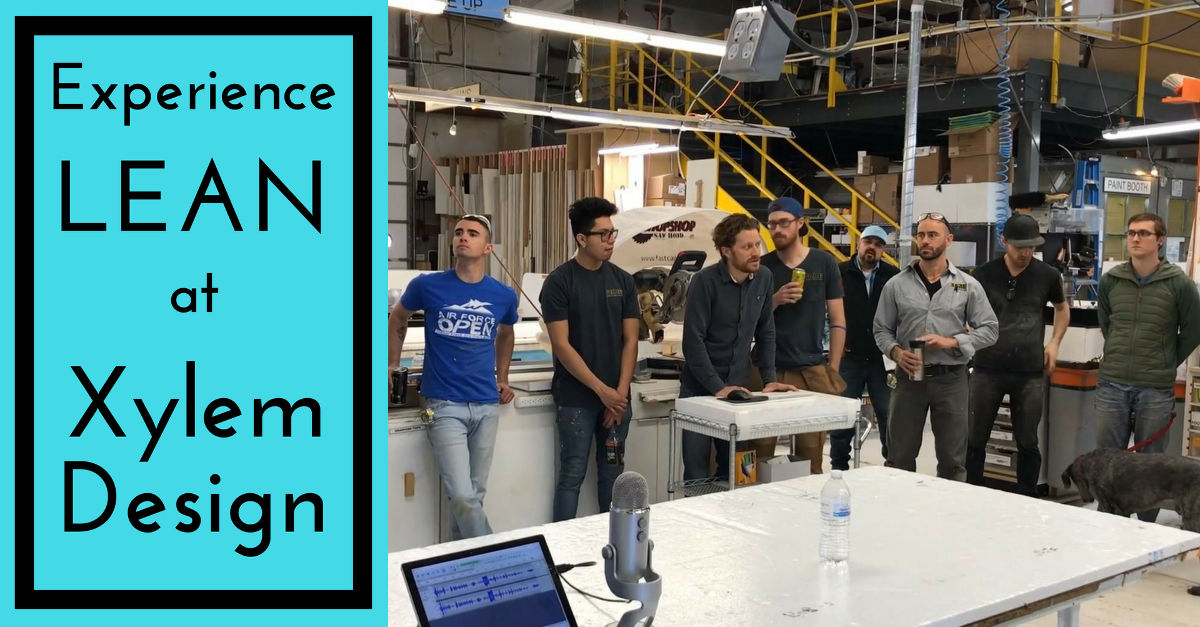 Experience Lean at Xylem Design
