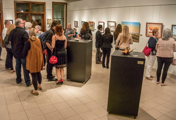 Art Gallery Crowd