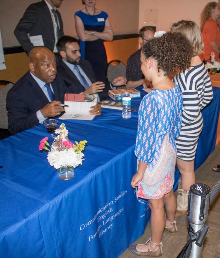 National Book Award Festival, SHSU, Sam Houston State University, LEAP Center, Center for Law Engagement And Politics, John Lewis