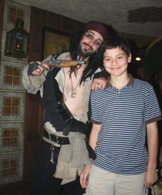 Ryan with Jack Webb