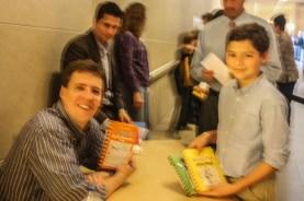 Ryan with Jeff Kinney