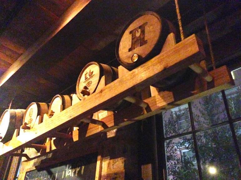 The bar at Husk.