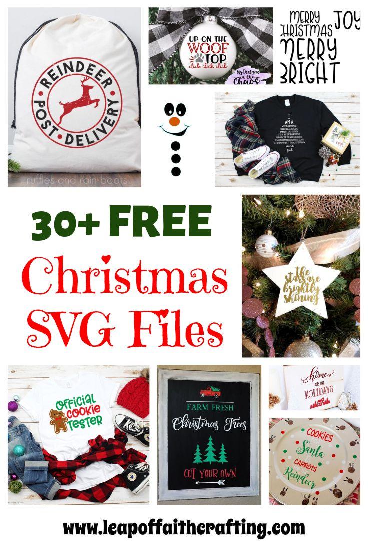 Free Christmas Svg Cutting Files : christmas, cutting, files, Christmas, Files, Projects, With!, Faith, Crafting