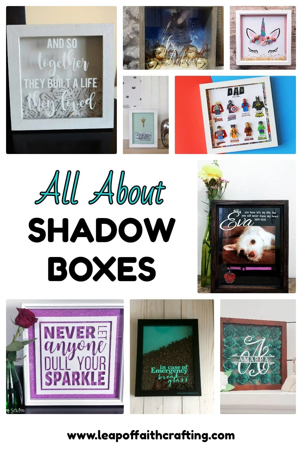 Dollar Tree Shadow Box : dollar, shadow, Ideas, Shadow, Decor, Amazing, Gifts!, Faith, Crafting