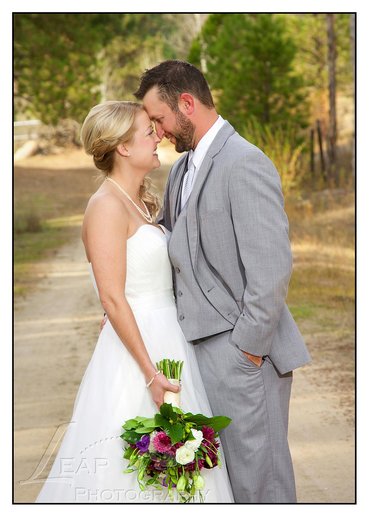 Rustic October Wedding