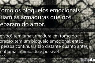 bloqueios emocionais