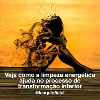 Veja como a limpeza energética ajuda no processo de transformação interior