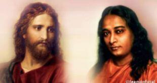 retratos de jesus e yogananda como inspiração para superar crises