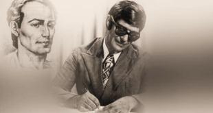 ilustração de Chico Xavier com o Espírito de andré luiz psicografando Mensagem de Chico Xavier traz conforto e consolo perante a enfermidade