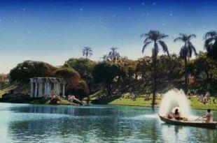 panorama do parque das águas de Nosso Lar poder espiritual da água