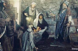 pintura com a cena do nascimento de Jesus Noite de Natal