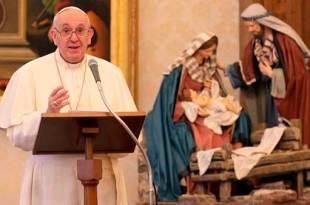 papa realizando o ângelus no Vaticano Papa mensagem ano novo