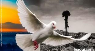 O sonho de um mundo sem guerras um dia vai se realizar