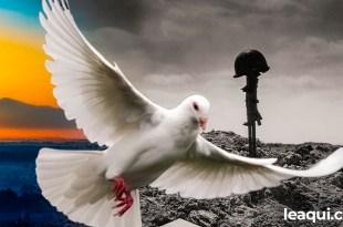 sonho de um mundo sem guerras