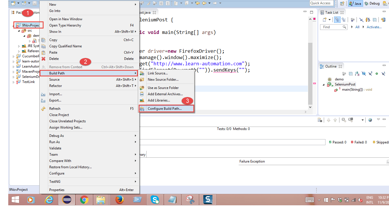 Solution for SendKeys is not working in Selenium Webdriver