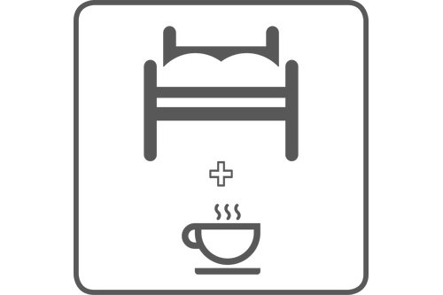 home stay in a single room, with breakfast (per week